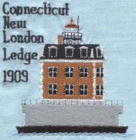 Connecticut Delaware Lighthouse Blocks