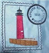 Wisconsin Lighthouse Stamps