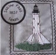 Gulf Lighthouse Stamps