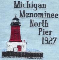 Michigan 2 Lighthouse Blocks