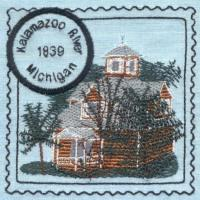 Great Lakes 4 Lighthouse Stamps