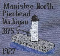 Michigan 5 Lighthouse Blocks