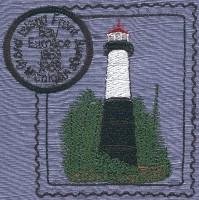 Michigan 5 Lighthouse Stamps