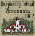 Apostle Islands Wisconsin Lighthouse Blocks