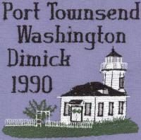 Washington 2 Lighthouse Blocks