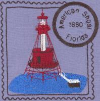 Florida 2 Lighthouse Stamps