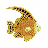 Tropical Fish Cutwork