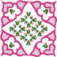 Floral Fantasy Block Set
