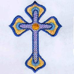 2011 Easter Cross with Mylar Singles
