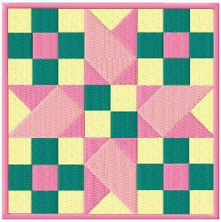 Jackies Embroidery Treasures Fabulous Quilt Block Singles