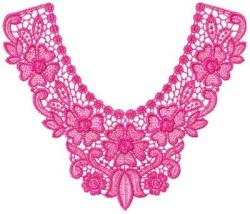 Large Indian Lace Collar Singles