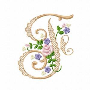 Lacy Monogram