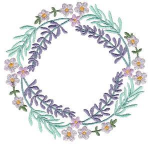Beguiling Botanical Wreaths Large Set 1