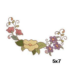 Flower Ovals Quilt Blocks Part 1