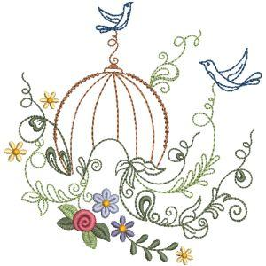 DELICATE BIRD CAGES