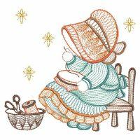 Rippled Sunbonnet Sue