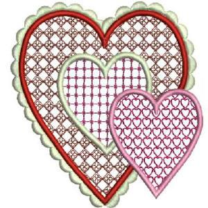 Valentine Hearts Set