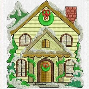 5 X 7 Christmas Village Set