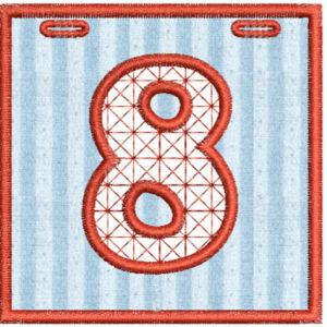 Applique Numbers