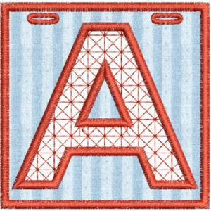 Applique Alphabet