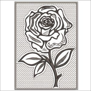 PEWTER ROSES