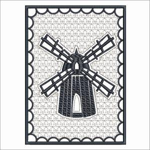 PEWTER WINDMILLS 2