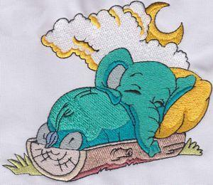 SLEEPY TIME ELEPHANTS