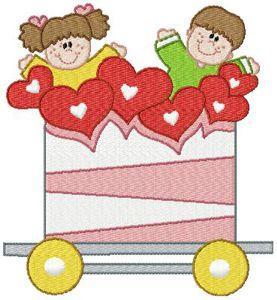 CSC184EE-Valentine Train