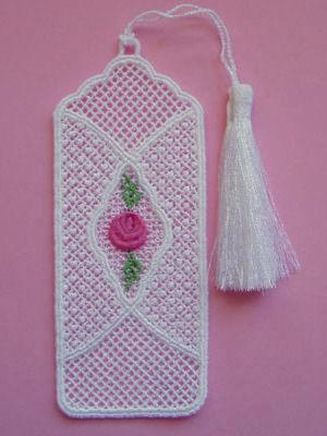 Freestanding Lace Bookmarks