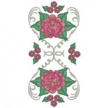 Silk Rose Cushions