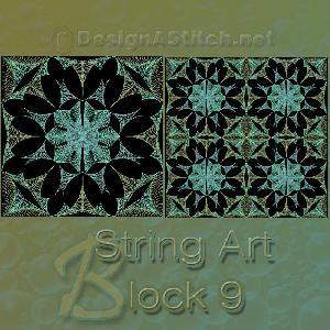 Dass001089 2-9 Singles Stringart