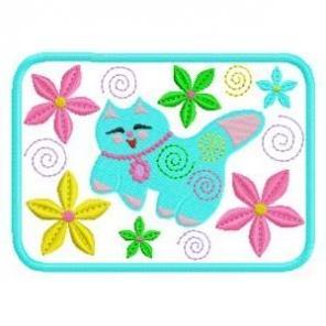 ITH Cheerful Kittie Mug Rugs
