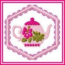 Hibiscus Teapots
