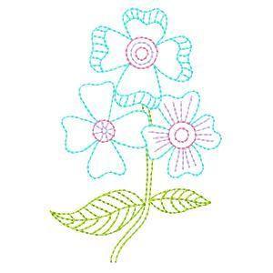 Elegant Floral Colorwork