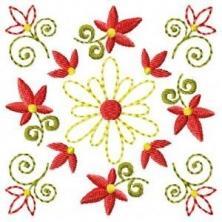 Chic Floral Cutwork