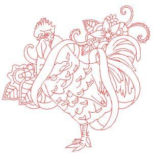 Outline Roosters