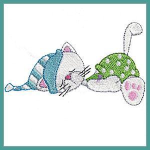 Bedtime Kitties