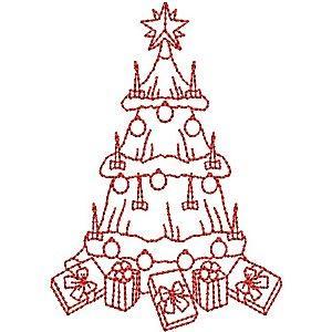 Redwork Christmas