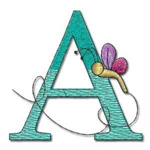Bugs Life Alphabet-3