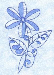 Blue Blooms