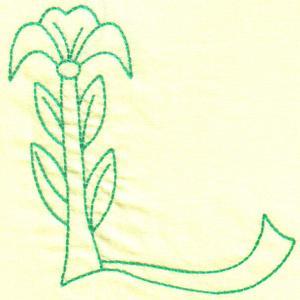 Garden Flower Alphabet