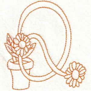 Flower Sketches Alphabet