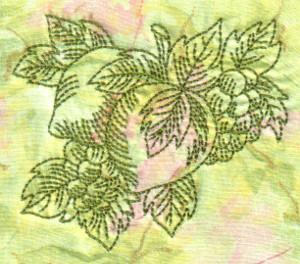 Redwork Fruit