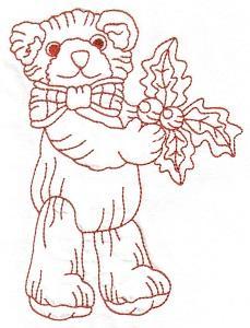 Teddy Bear Christmas Time