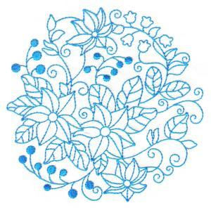 Bluework Art