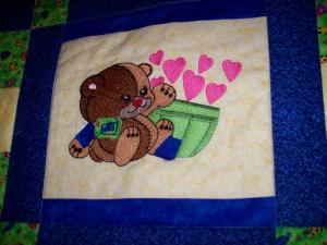 Raggy Patch Bears 5x7