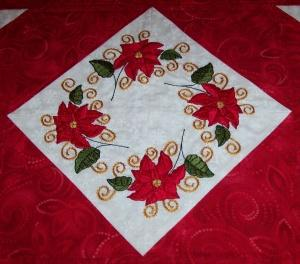 Decorative Poinsettias