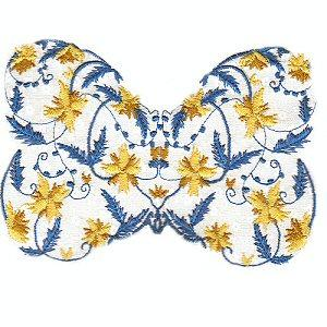 Lacy Floral Butterflies