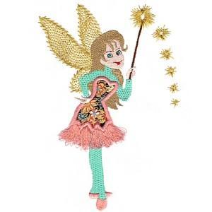 Appliqued Flirty Fairies