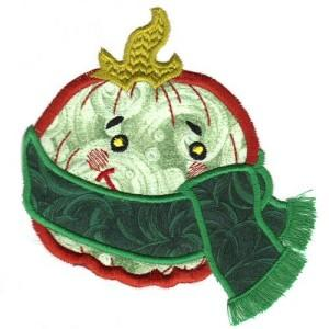 Amusing Pumpkins Applique